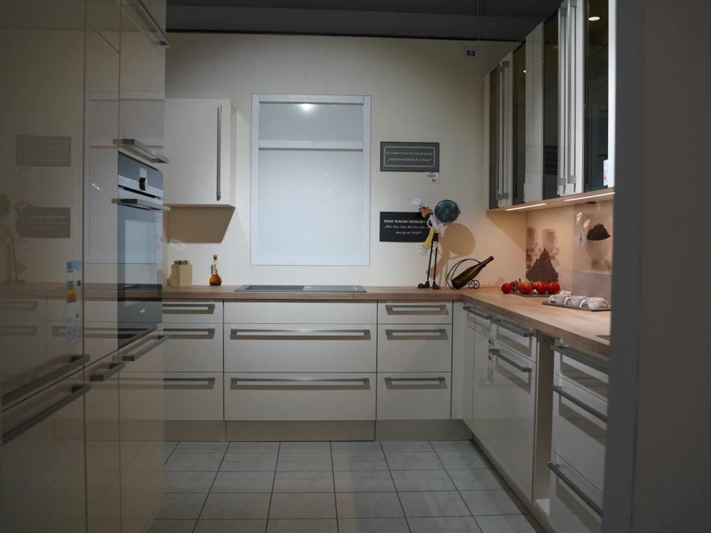 Moderne L Küche Hochglanz Magnolia