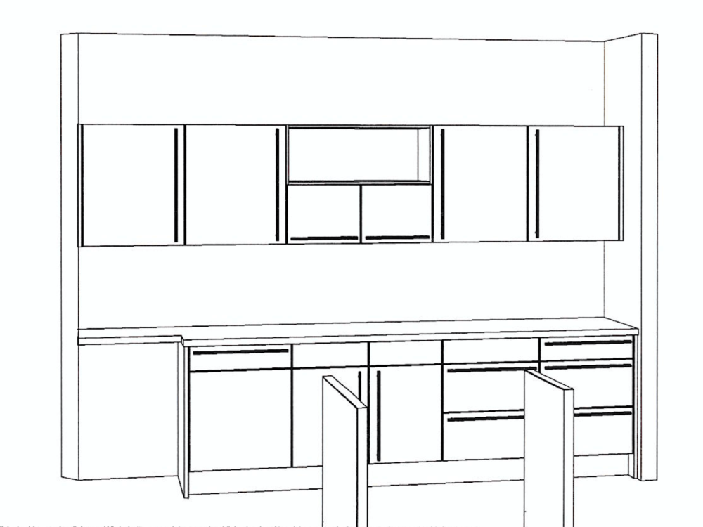 Moderne Nobilia Inselküche Sand EEK A+++