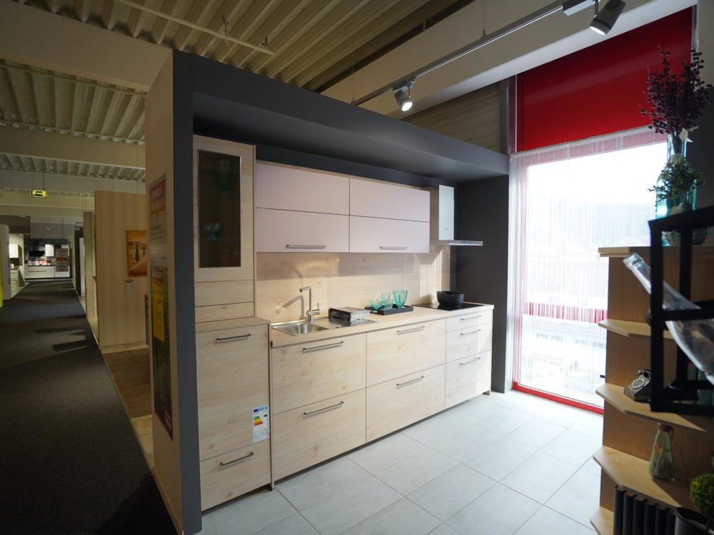 Nolte moderne Küchenzeile Fronten Asteiche