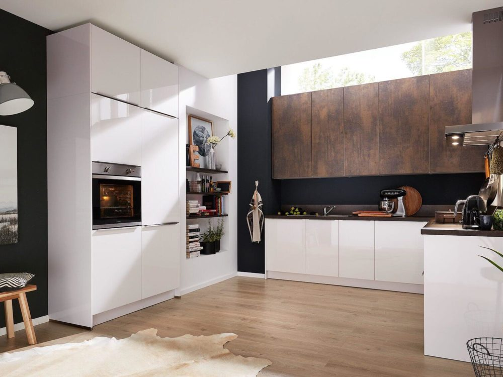Moderne Küche Hochglanz Lack