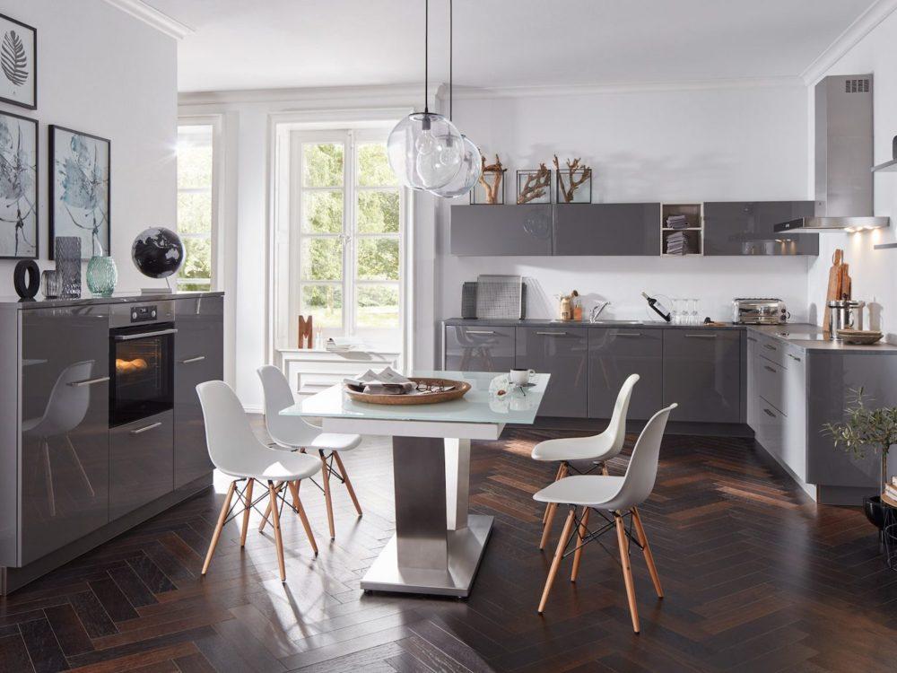 Moderne L Küche Lack