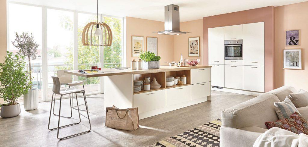 Klassische Küche Nobilia Weiße Küchen